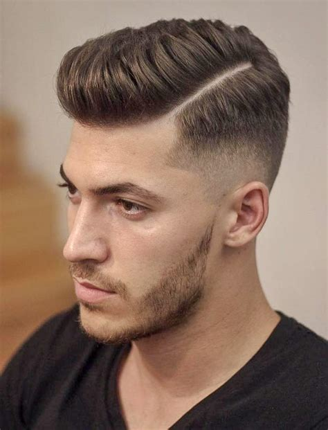 35 hard part haircuts reviving an old classic