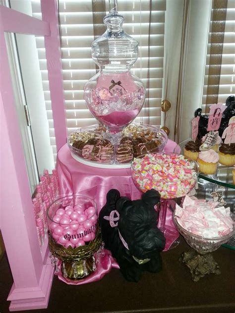 juicy couture baby shower decorations my creations juicy couture baby shower party ideas photo 3 of 28