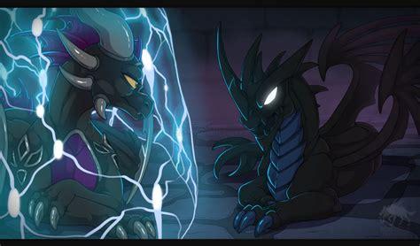 Kaos Black Magic skylanders dragons of darkness by weirdhyenas on deviantart