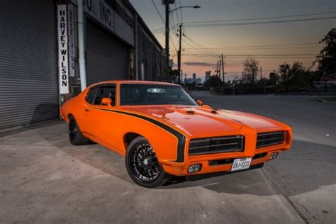 feature 1969 pontiac gto classic recollections 1969 gto pro touring 2014 magazine feature car for sale in spring texas united states