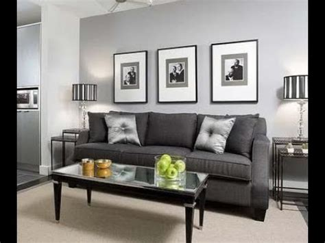 Grey Wall Living Room Design by Living Room Grey Walls Black Furniture Interior Design