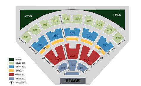 Molson Hitheatre Floor Plan | my life is like a song venue 1 molson amphitheatre