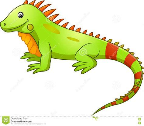 imagenes animadas de iguanas desenhos animados bonitos da iguana ilustra 231 227 o do vetor
