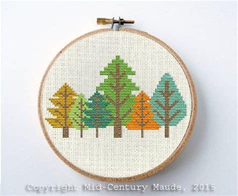 tree cross stitch pattern 25 unique easy cross stitch patterns ideas on