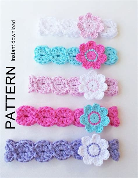 pattern for infant headbands adjustable crochet headband pattern crochet and knit