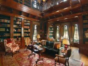 New Home Library Design Interior Style And