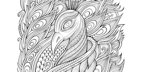 coloriage paon gratuit 19 avril artherapie ca