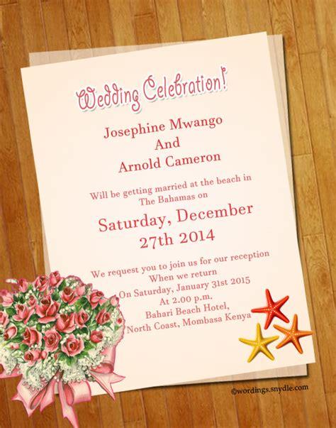 top 10 wedding invitations words wedding invitation wording sles wordings and