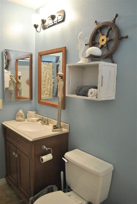 nautical bathroom for the home