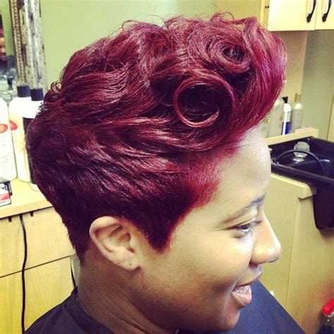 nice mohawk hair styles 7 best images about burgundy curls on pinterest her hair