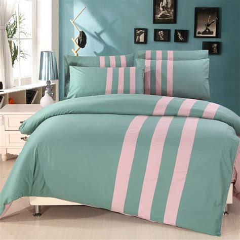 turquoise bedding two color patchwork blue pink purple orange brown