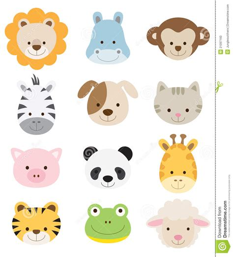 Baby Cartoon Animals Clipart   Clipart Suggest