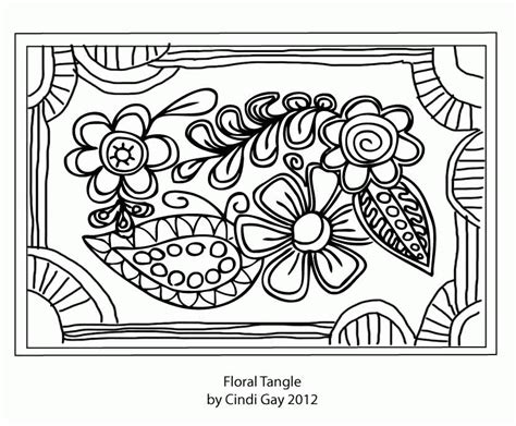 floral tangle rug hooking pattern how to hook tips rug