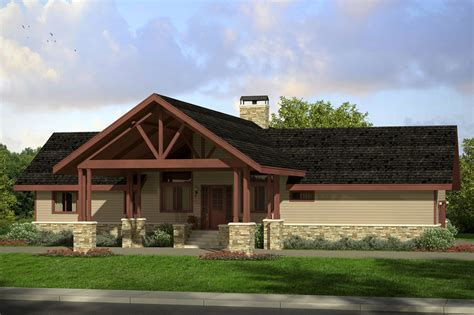 Cabin Style Home Plans New Lodge Style Spindrift Vacation Cabin Retreat Associated Designs