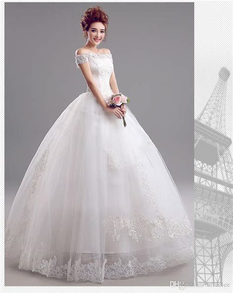 Where To Get Wedding Dresses by Get Cheap White Simple Wedding Dress
