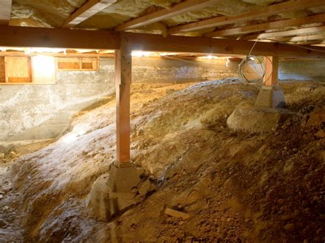 crawl space basement crawl space issues and solutions hgtv