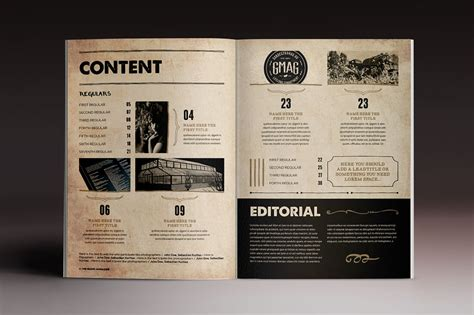 Last Chance 15 Indesign Magazine Brochure Templates Only 24 Mightydeals Magazine Brochure Template