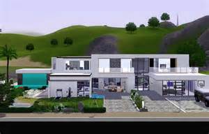 gallery for gt sims 3 modern house designs