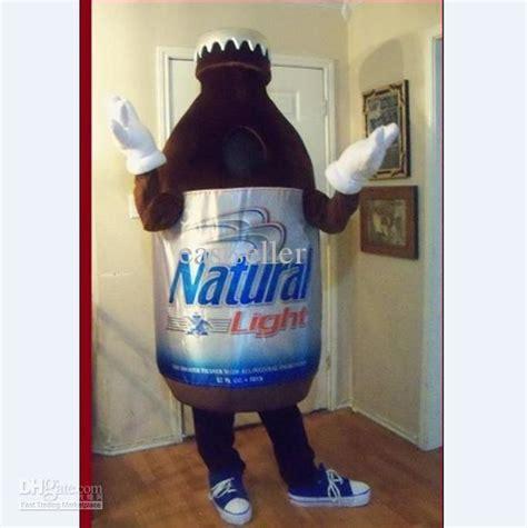 who makes natural light beer 2012 new beer plush costume natural light mascot custom