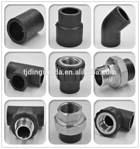Fitting Pipa Hdpe Thread Socket Luar 2 1 2 Inci 75 Mm tianjin factory hdpe pvc pipe fittings pe 100 pipe 90 welding buy hdpe pipe fittings
