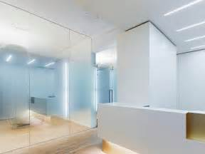 Dental Reception Desk Treatment Room W Glass Partitions And Reception Desk