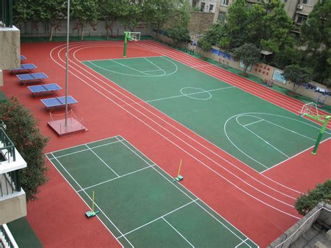 backyard basketball court flooring outdoor basketball court flooring gurus floor