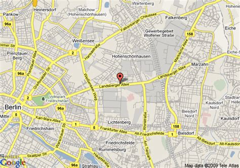 landsberger allee map of inn berlin city east landsberger allee berlin