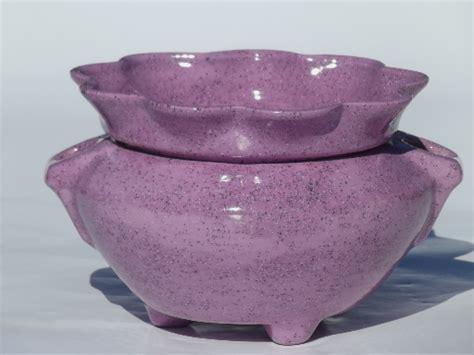 Handmade Ceramic Pots - retro handmade ceramic pots for macrame hanging planters