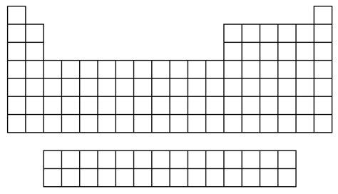 blank periodic table printable doc worksheet blank periodic table worksheet grass fedjp