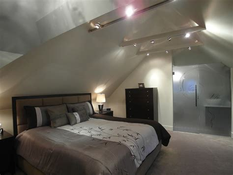 en suite bedroom attic bedroom and ensuite contemporary bedroom
