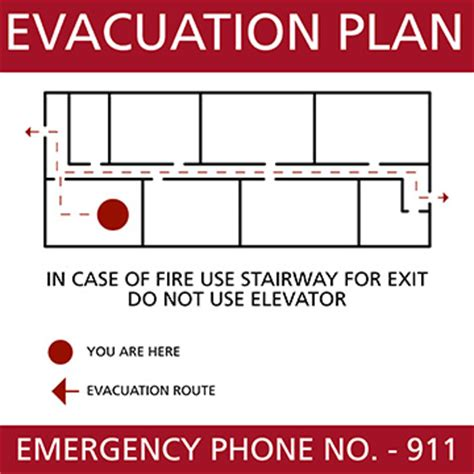 emergency evacuation plan template hurricane emergency plan template