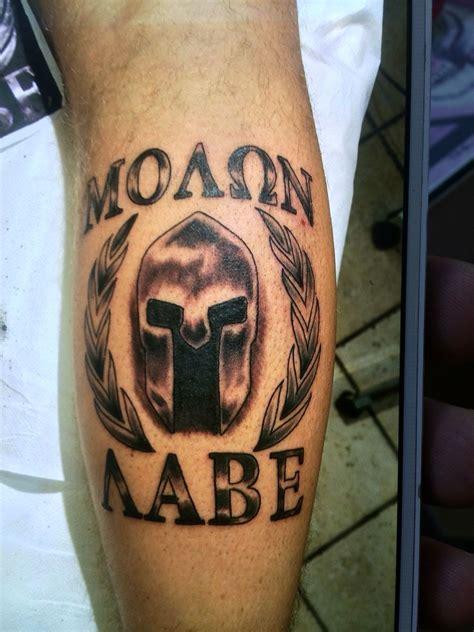 molon labe tattoo molon labe tattos molon labe