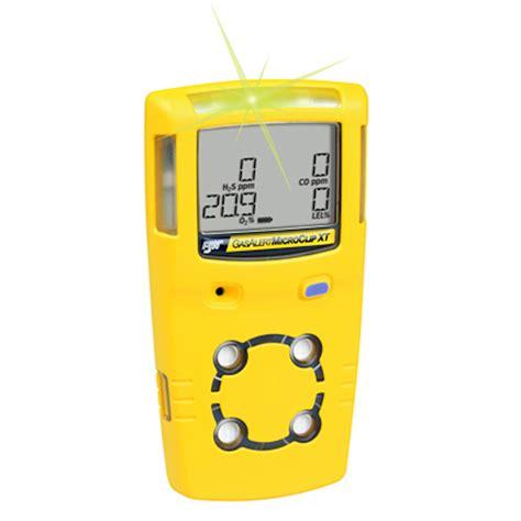 Gas Detector Micro bw gas alert microclip xt multi gas detector gas