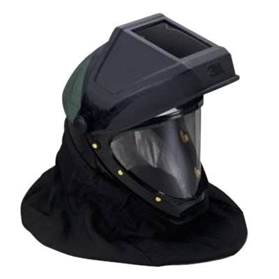 3m helmet l 905 with welding shield and wide view