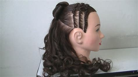 peinados para nias de 10aos para la comunion peinado para primera comuni 211 n con trenza recogida y