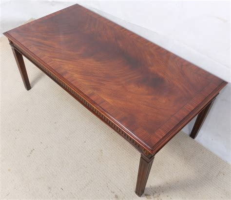 georgian style mahogany coffee table