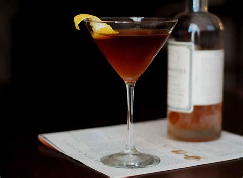 the martinez cocktail recipe dishmaps
