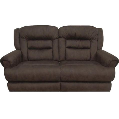 catnapper leather sofa catnapper perez power reclining leather sofa in chestnut