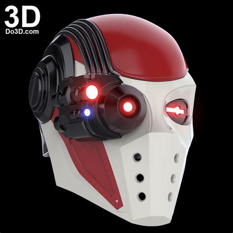 3d printable model deadshot helmet injustice 2 mask