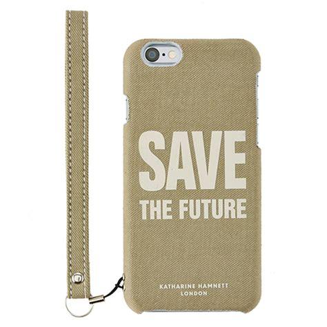 Katharine Hamnett Saves The Future With Cole by Simplism Iphone 6s ファブリックケース Katharine Hamnett