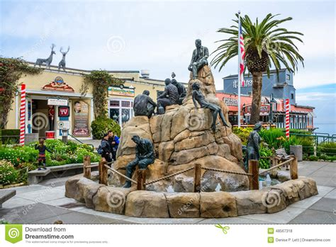 greater than a tourist monterey california united states 50 travel tips from a local books the cannery row monument monterey california editorial