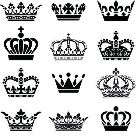 king queen tattoo drawings queen and king crowns tattoo design