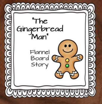 felt board templates free printable gingerbread printable flannel board story by joyful