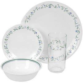 corelle country cottage glasses corelle 6022105 country cottage 16 livingware set with glasses service for 4 gosale