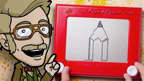 Things To Draw On Etch A Sketch by Drawing With An Etch A Sketch Challenge