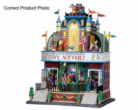 lemax christmas wonderland toy store 4 5 volt adaptor