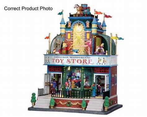 lemax christmas wonderland toy store 4 5 volt adaptor