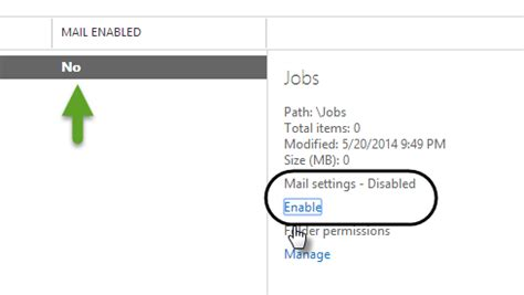 Office 365 Mail Enabled Folder Automatic Reply Office 365 Using Folder