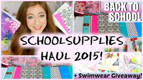 Bethany Mota Back To School Giveaway - school supplies haul 2016 giveaway philippines full download bethany mota back to