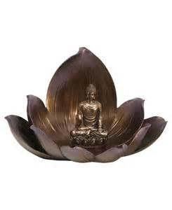 Lotus Statue Serene Buddha And Lotus Statue